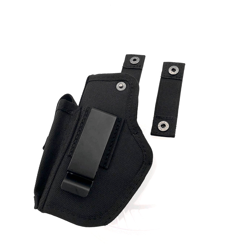Image 4 - Gun Holster Concealed Carry Holsters Belt Metal Clip IWB OWB Holster Airsoft Gun Bag Hunting Articles For All Sizes Handguns-in Holsters from Sports & Entertainment