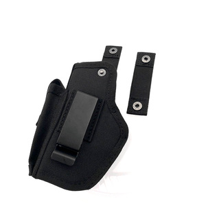 Image 4 - Gun Holster Concealed Carry Holsters Belt Metal Clip IWB OWB Holster Airsoft Gun Bag Hunting Articles For All Sizes Handguns