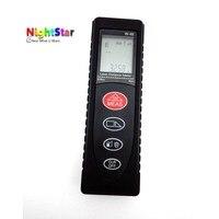 40m Mini Digital Laser Distance Meter Rangefinder Range Finder Tape Measure Area Volume Tool Color Black