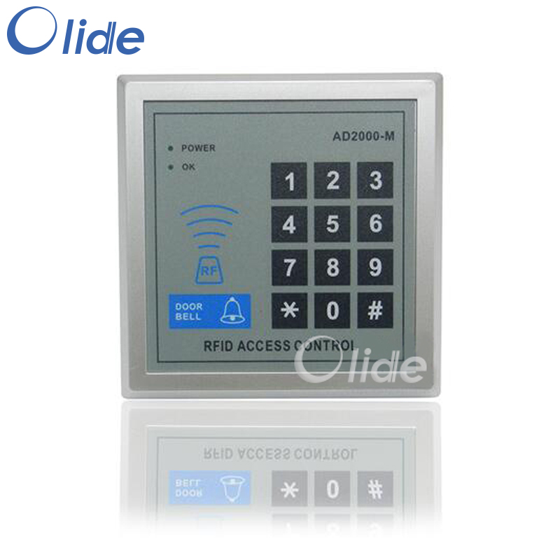 Tag And Card Reader Access Keypad For Automatic Door Opener/Access Control System Access Key Pad image
