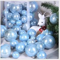 2018 Navidad NatalChristmas Balls Christmas Decorations Wedding Decorations Christmas Tree Ornaments