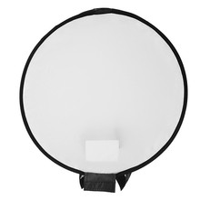 40cm Universele Draagbare Ronde Studio Softbox Fotografie Flash Diffuser Softbox Voor Nikon Voor Canon DSLR Camera(China)
