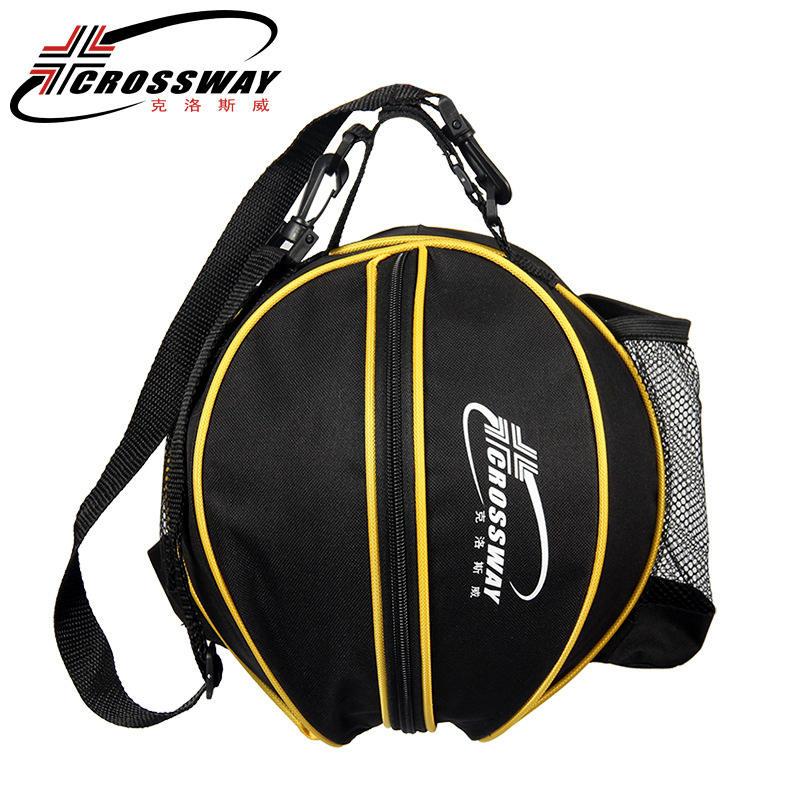 Универсальная спортивная сумка для баскетбола, рюкзак для волейбола, регулируемый плечевой ремень круглой формы, для хранения-3