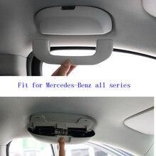 OEM автомобиля Стекло коробка солнцезащитные Стекло чехол для Mercedes Бен z W211 W221 W220 W163 W164 W203 W204 A B C E SLK GLK CLS ML GL все серии