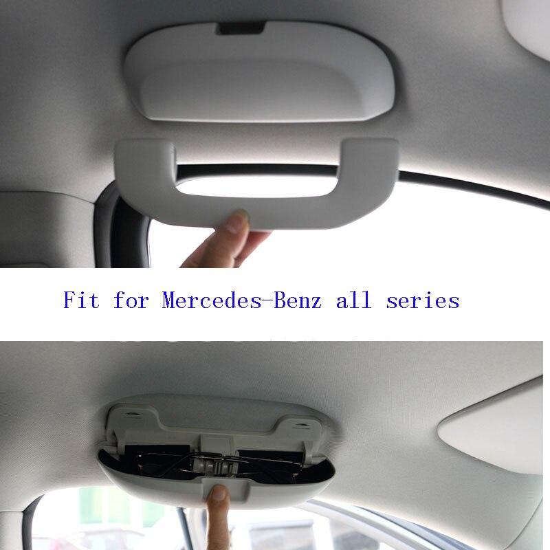 OEM Car Glass Box Sunglasses Case for Mercedes Ben z W211 W221 W220 W163 W164 W203 W204 A B C E SLK GLK CLS ML GL All Series