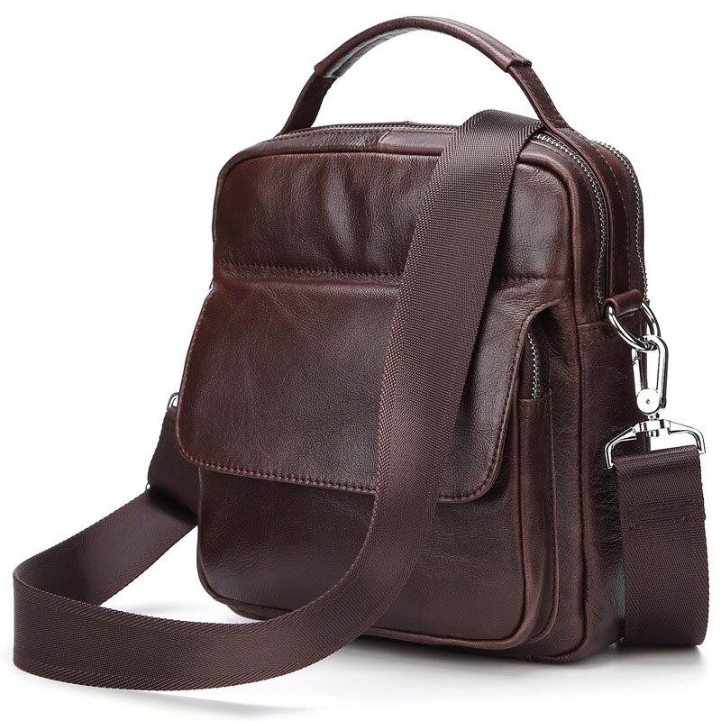 Fabrik Tailor-made Männer Aus Echtem Leder Umhängetasche, Hohe Qualität Zipper Schulter Taschen, Business Messenger Taschen BBLC003