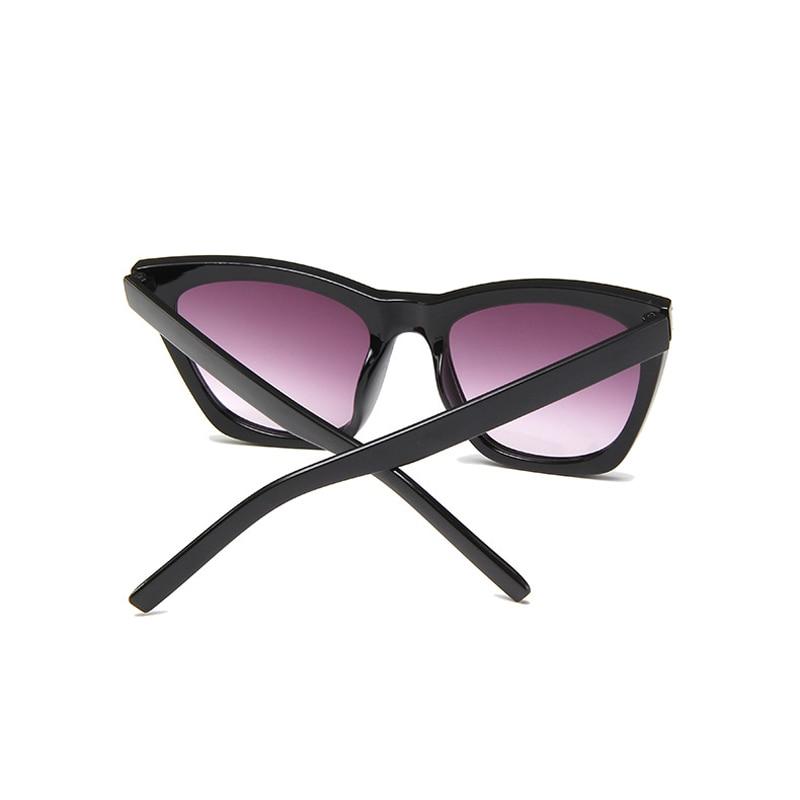 Seemfly 2019 New Vintage Brand Design Ladies Cat Eye Sunglasses Women Luxury Oversized Rivet Sun Glasses For Female UV400 Shades in Women 39 s Sunglasses from Apparel Accessories