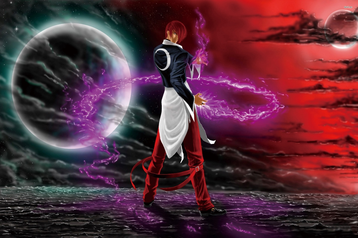 The King Of Fighters Iori Yagami Anime Guy Fantasy Kb307