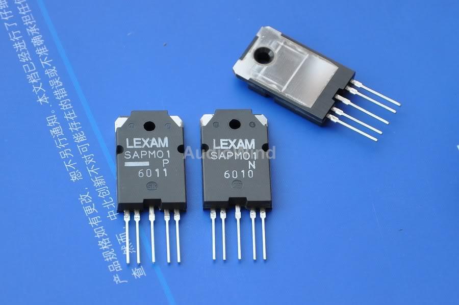 5pcs 2SA1386A /& 5pcs 2SC3519A Original SANKEN Audio High Power Transistor.