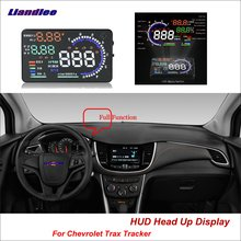 Liandlee For Chevrolet Trax Tracker Sonic Spark 2012-2018 Safe Driving Screen OBD Car HUD Head Up Display Projector Windshield liandlee car hud head up display for chevrolet colorado s10 gmc canyon 2012 2018 safe driving screen obd projector windshield