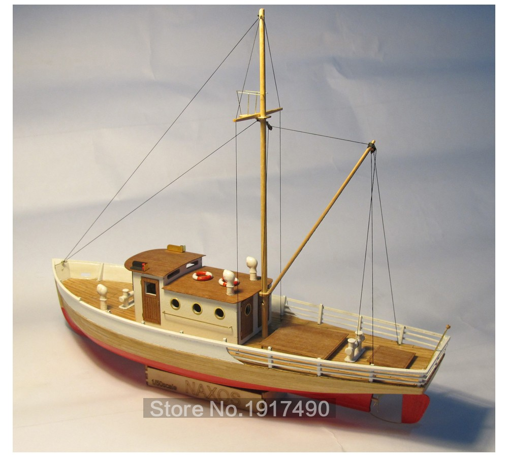 Us 76 43 50 Off Wooden Ship Models Kits Diy Train Hobby Model Wood Boats 3d Laser Cut Scale 1 50 Nexus With A Wooden Fishing Boat Static Kit In