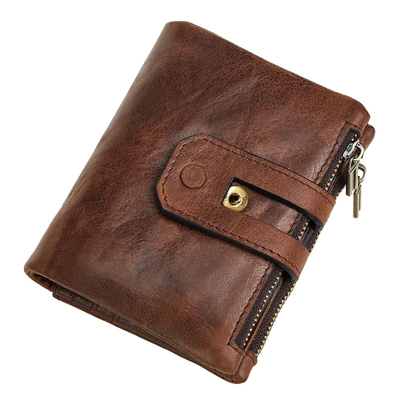 Vintage Men Wallet Genuine Leather Short Wallets Male Multifunctional Cowhide Purse Coin Pocket Carteira For Rfid ot tensioning device g0385ek1 go385ek1