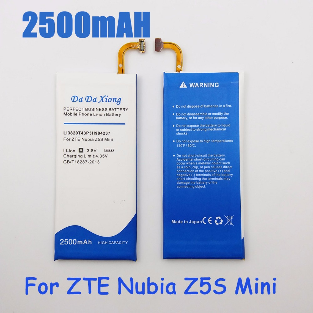 2500mah Li3820t43p3h984237 Battery For Zte Nubia Z5s Mini Nx403a Short Circuit Phone In Mobile Batteries From Cellphones Telecommunications On
