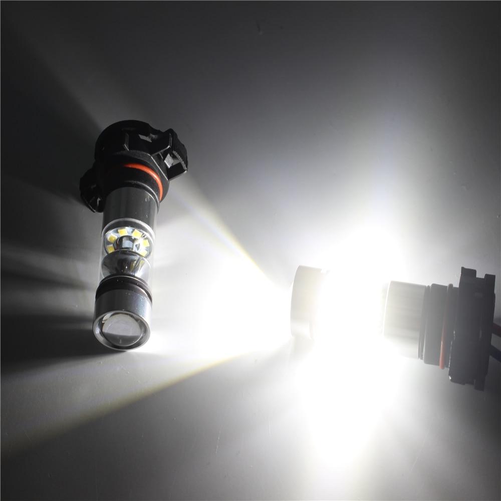 2 հատ / 1 լոտ բարձր հզորություն 100W PSX24W LED - Ավտոմեքենայի լույսեր - Լուսանկար 6
