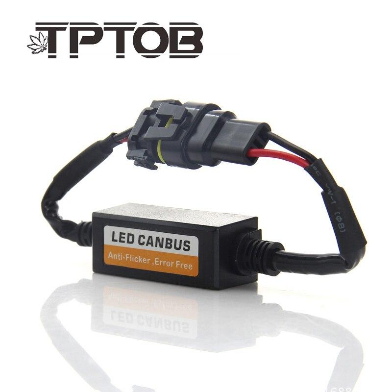 US $8.4 51% OFF|TPTOB Error Free Canbus Decoder for LED Car Bulb Headlight H Headlight Wiring Harness on