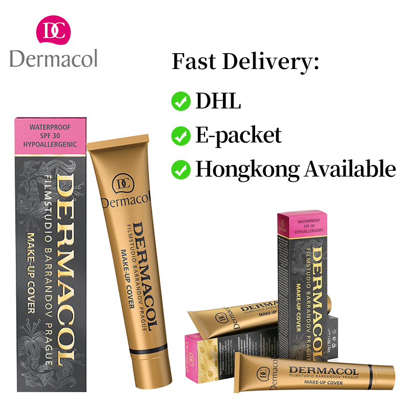 Dropshipping lieferant Basis Dermacol corretivo consealer make up abdeckung basis primer corrector creme tatoo gesicht Dermacol foundation