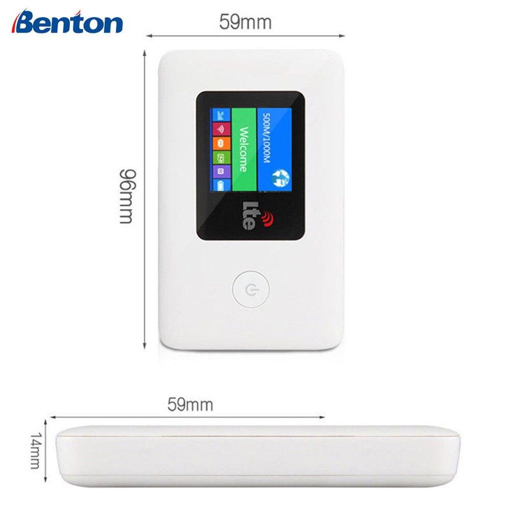 Routeur Wifi 4G LTE 3G Sim Hotspot mobile sans fil haut débit poche Mifi déverrouiller LTE Modem répéteur d'extension Wifi sans fil