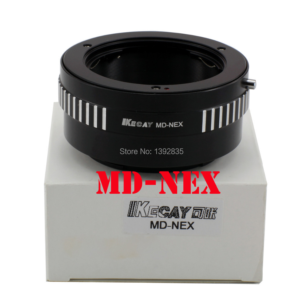 Kecay anillo adaptador MD-NEX para Minolta MD Mc lente para Sony NEX e montaje cuerpo NEX5 NEX5N NEX7 NEXC3 NEXF3 NEX-5R NEX6