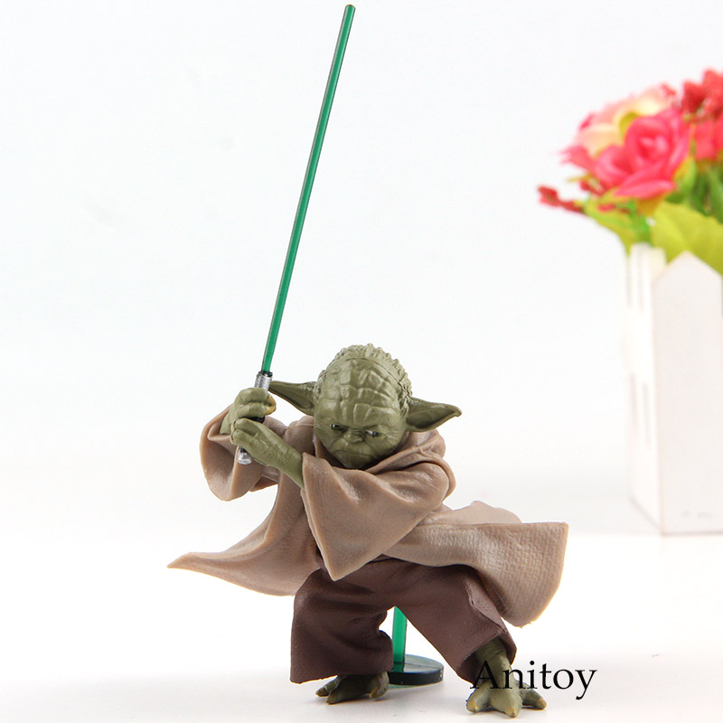 12cm Star Wars Jedi Knight Master Yoda PVC Action Figure Collection