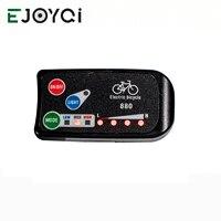 EJOYQI KT LED880 Ebike wyświetlacz 36V 48V rower elektryczny inteligentny wyświetlacz panelu sterowania akcesoria rowerowe elektryczne w Akcesoria do rowerów elektrycznych od Sport i rozrywka na