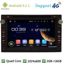 7″ 1024*600 Quad Core 4G Android 5.1.1 Car DVD Player Radio Stereo for VW PASSAT B5 Golf 4 Polo Bora Jetta Sharan Citi Lupo Seat