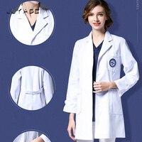 2018 Summer Women Hospital Medical Laundry Clothes Set Design Slim Fit for Teeth Scrubs Beauty Salon Nurse Uniforms Spa Workwear