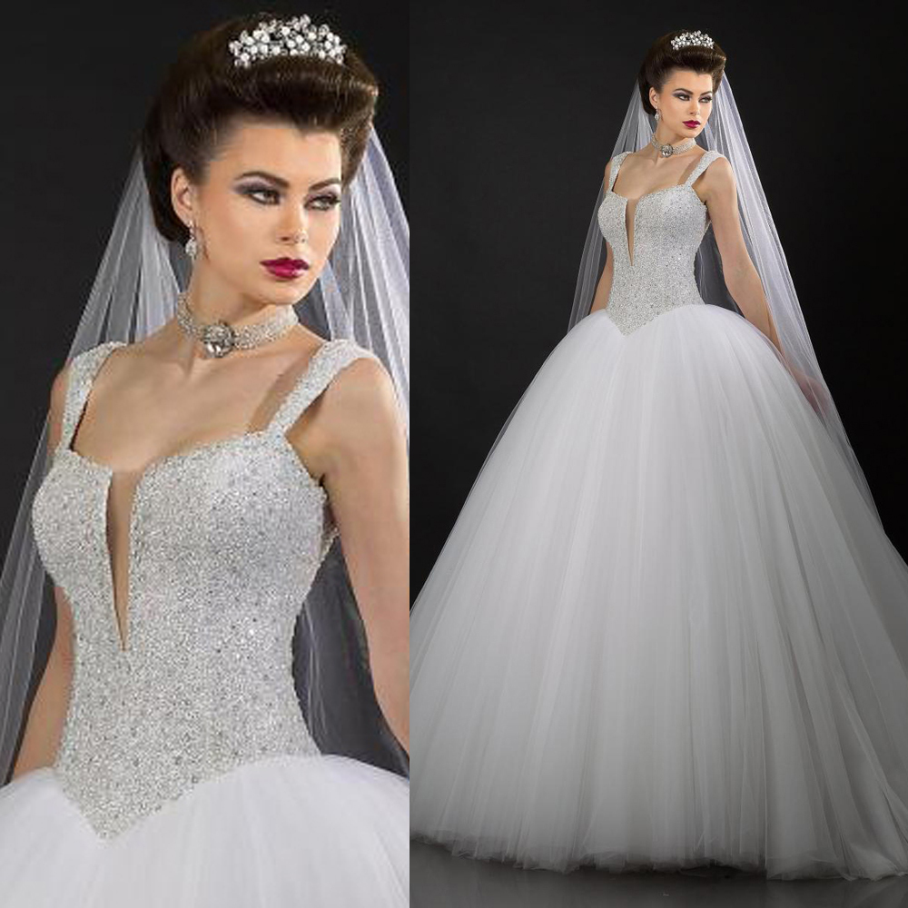 Popular 2016 bling wedding dress buy cheap 2016 bling for Bling corset mermaid wedding dresses
