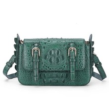 gete 2018 new hot freeshipping real crocodile leather women handbag a shoulder bag women bag women