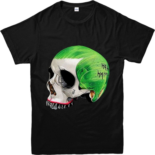 Joker Skull  T Shirts For Men