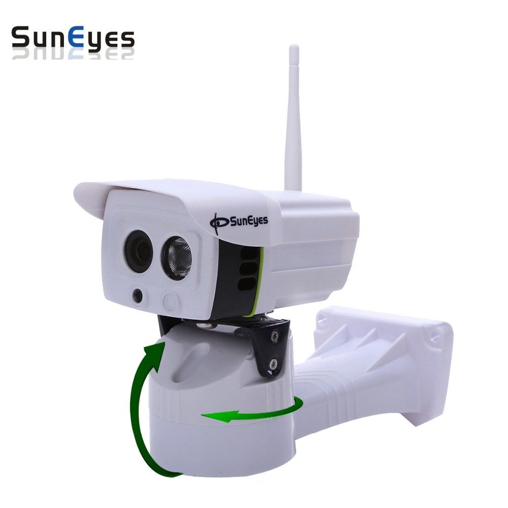 SunEyes SP-P701EWPT/P1801SWPT Pan/Tilt IP Camera Wireless P2P Outdoor with TF/Micro SD Card Slot 720P and 1080P is Optional suneyes sp p701ewpt p1801swpt hd pan tilt rotation ip camera wireless outdoor with micro sd slot 720p and 1080p optional