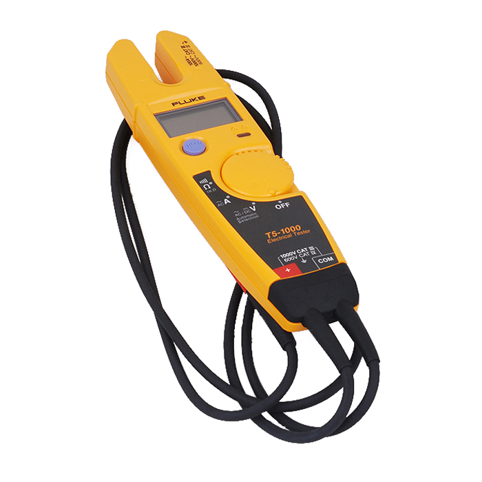 FLUKE T5-1000 1000 Voltage Current Electrical Voltage Continuity Current Clamp Meter Tester мультиметр fluke t5 1000