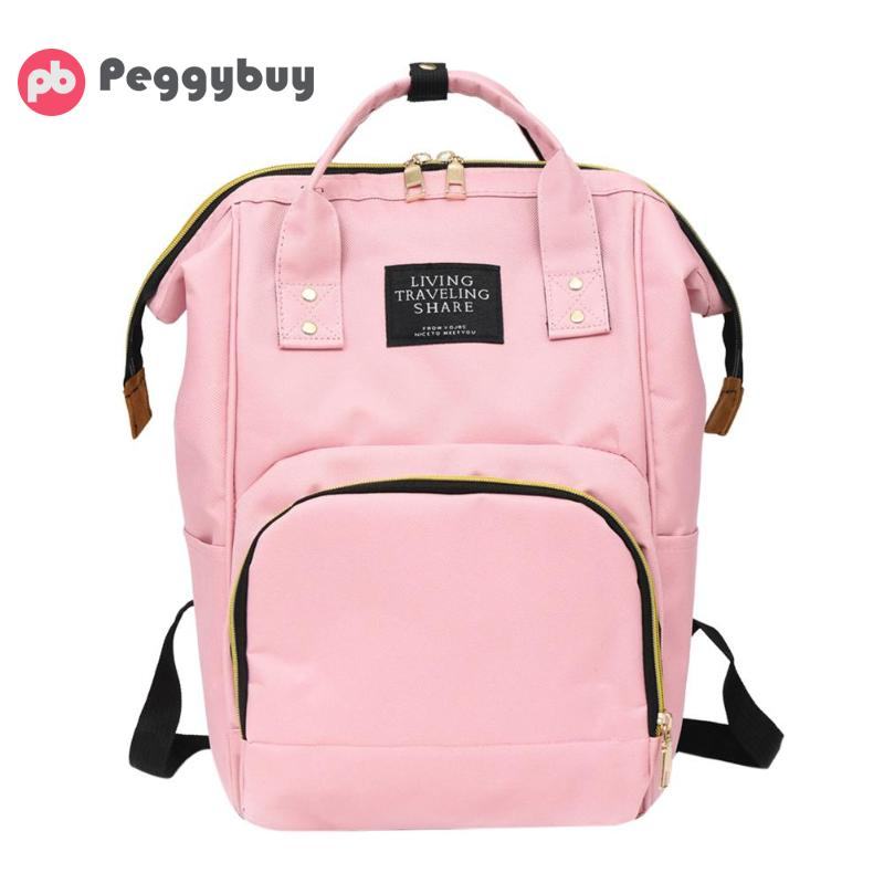 4c1790f8631 Mummy Backpacks Oxford Big Backpacks for Mom Maternity Nappy Bag Large  Capacity Baby Bags Travel