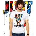 Ilustraciones y diseño del verano Ocasional HAZLO T Shirt Hombres Mujeres Moda divertida Camiseta de La Moda Streetwear top tees camiseta