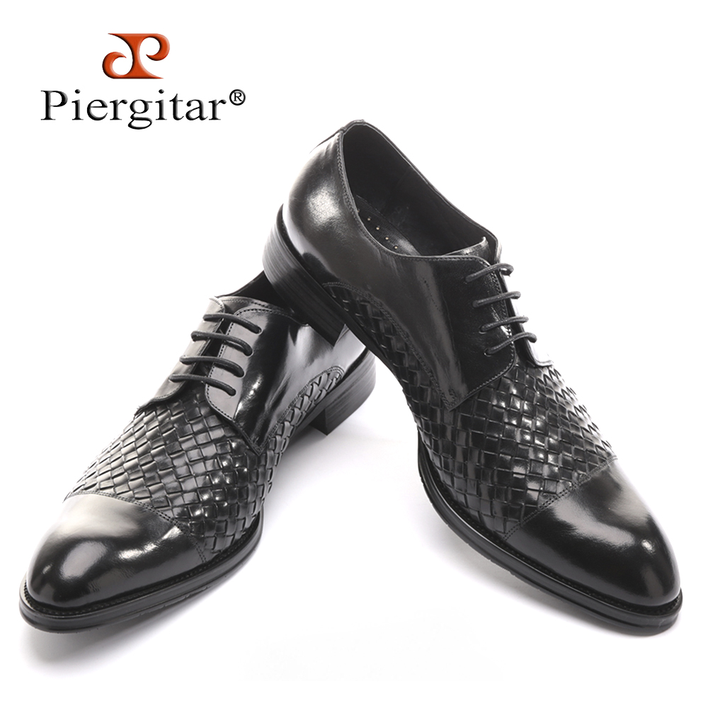 Men's Genuine Leather fashion casual Lace-Up flats shoes Party Wedding shoe for men business BV Oxfords shoes Free shipping38-45