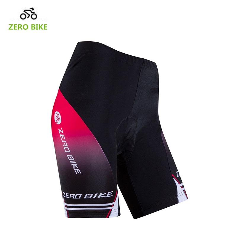 ZEROBIKE 4D Gel Padded Cycling Shorts Womens Quick Dry Shockproof MTB Bike Bicycle Short Pants Tights Bermuda Ciclismo USA Size