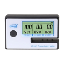 LS162 Window Tint Meter Solar Film Transmission Meter,Filmed Glass Tester ,VLT transmittance meter ,UV IR rejection meter