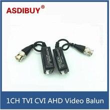 5Pairs/lot CCTV Video Balun Transceiver HD-CVI TVI AHD Passive Video Balun 1 Channel CCTV BNC For AHD TVI CVI 1080P 720P