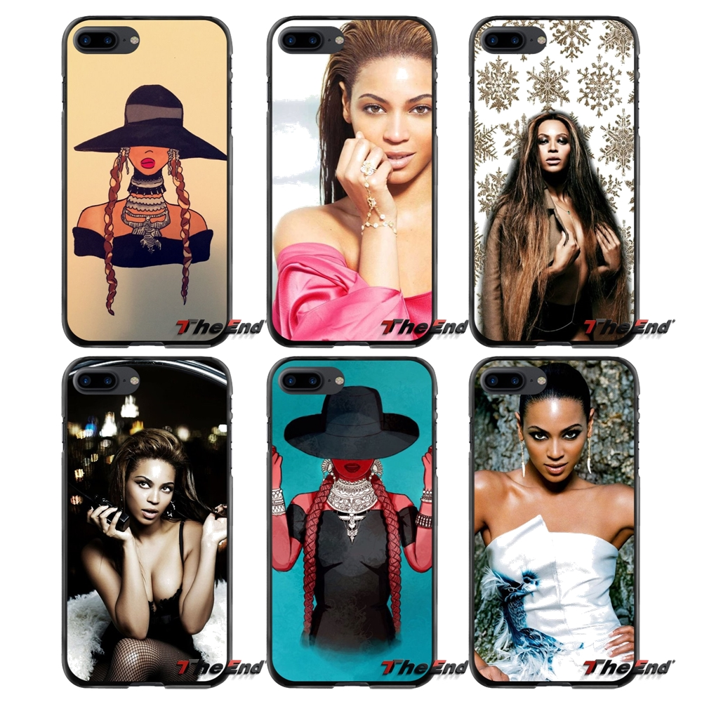Accessories Phone Cases Covers fashion singer Beyonce For Apple iPhone 4 4S 5 5S 5C SE 6 6S 7 8 Plus X iPod Touch 4 5 6