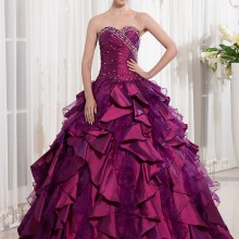 cecelle Purple Ball Gown Quinceanera Dresses 2019