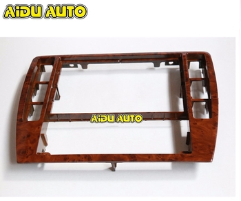 3B0858069 для VW Passat B5, рама для приборной панели из красного дерева, обновленная панель радио 3B0 858 069