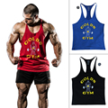 Bodybuilding Tank Top Men Singlets Stringer Clothing Muscle Sleeveless Sportswear Shirt Vest Regata Masculina Clothes