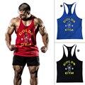 Ropa Muscle Tank Top Hombres Singletes Stringer culturismo Sin Mangas Camisa Chaleco Regata Masculina de Ropa Deportiva Ropa