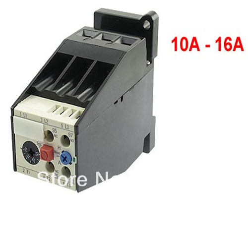 Ac 10a 16a Motor Protection Thermal Overload Relay 1 No 1