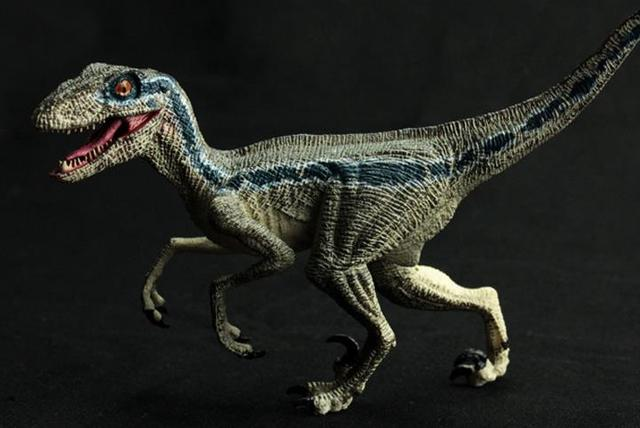 velociraptor blue dinosaur toy raptor model classic toys for boys