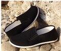 Qualidade superior Sapatos de Algodão Preto Bruce Lee Kung Fu Chinês Do Vintage sapatos Wing Chun Tai Chi Slipper Martial Art Pure Sapatos de Algodão