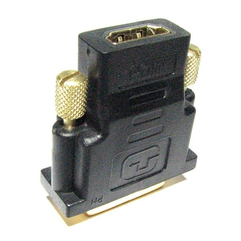 Professional DVI to HDMI conversion adapter HDMI: Female DVI 24 pin: male ...