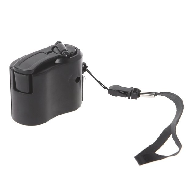 Hand Crank Phone Charger Manual Battery Charger Wind Up Emergency Camping Charge