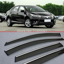 For Toyota Corolla 2014 2015 2016 Window Wind Deflector Visor Rain/Sun Guard Vent
