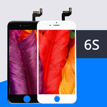5 pçs/lote 100% AAA Genuine Substituição LCD Para iPhone Tela de Toque LCD com Digitador Montagem com 3D 6 s Livre DHL Grátis