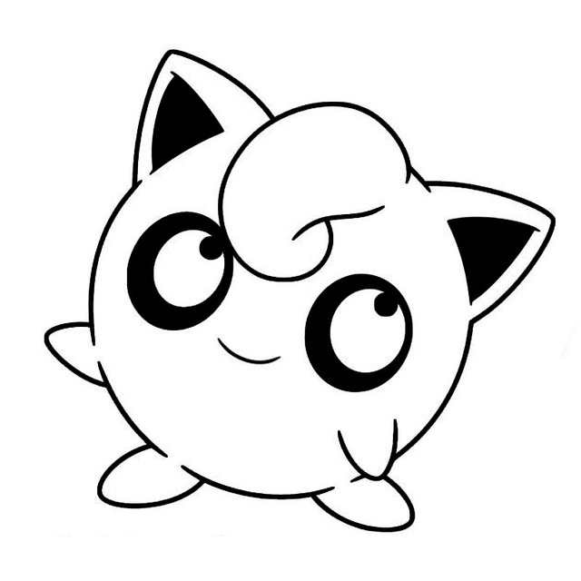 1413 3cm lovely jigglypuff pokemon amazing car stickers unique fashion car styling decal black